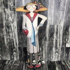 Mary Engelbreit Doorstop Plush  Weighted Doll